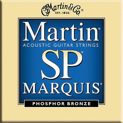 Martin MSP2200 Marquis 92/8 Phosphor Bronze Medium Guitar Strings