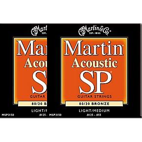 martin msp3150 sp bronze light medium acoustic guitar strings 2 pack musician 39 s friend. Black Bedroom Furniture Sets. Home Design Ideas