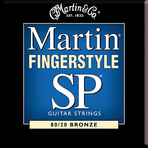 Martin MSP32FS 80/20 Bronze Fingerstyle Medium Guitar Strings