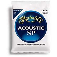 Martin MSP4250 SP Bluegrass Medium Acoustic Guitar Strings