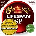 Martin MSP7050 SP Lifespan 92/8 Custom Light (11-52) Acoustic Guitar Strings thumbnail