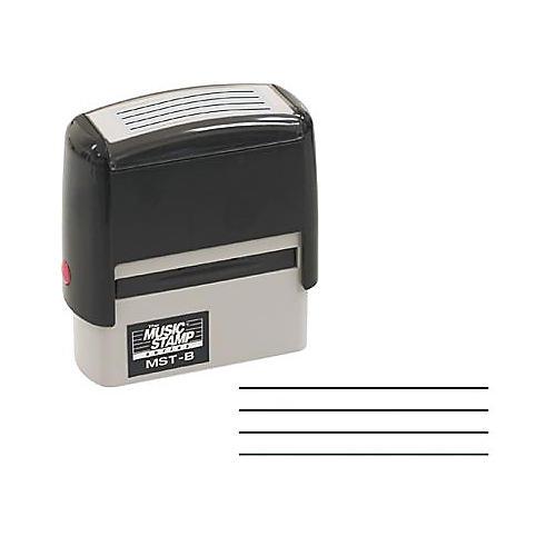 The Music Stamp Series MST-B 4 Line Bass Tablature Stamp