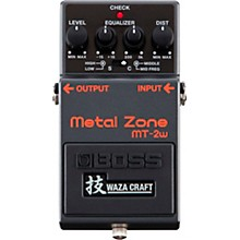 Open BoxBoss MT-2W Metal Zone Waza Craft Distortion Guitar Effects Pedal