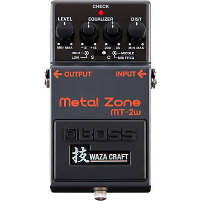 Boss MT-2W Metal Zone Waza Craft Distortion Guitar Effects Pedal