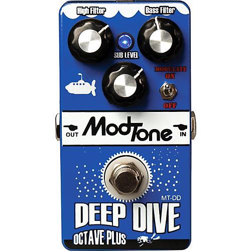 Modtone MT-DD Deep Dive Octave Plus Guitar Effects Pedal