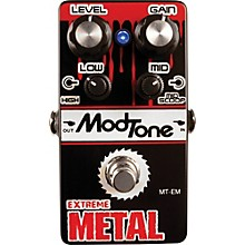 Open Box Modtone MT-EM Extreme Metal Guitar Effects Pedal