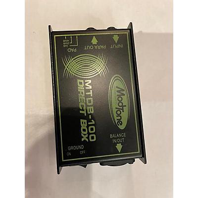 Modtone MTDB100 Direct Box