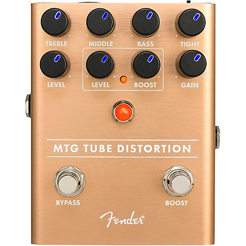 Fender MTG Tube Distortion Effects Pedal Condition 1 - Mint