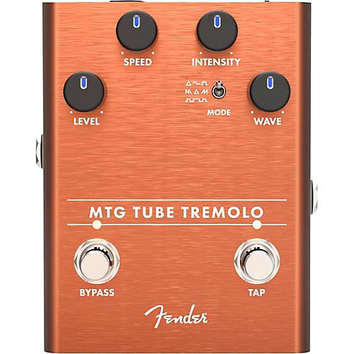 Fender MTG Tube Tremolo Effects Pedal Copper