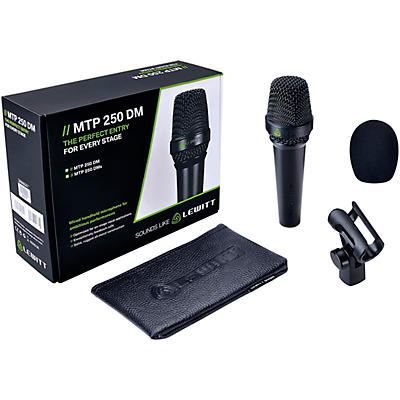 Lewitt Audio Microphones MTP-250 DMs Cardioid Dynamic Microphone with On/Off Switch