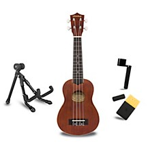 Mitchell MU40 Soprano Ukulele Deluxe Package
