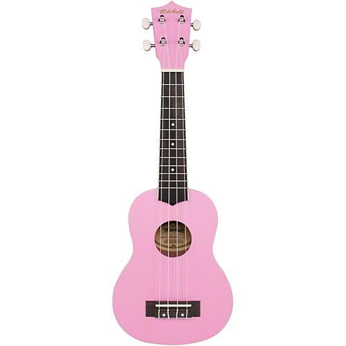 Mitchell MU40 Soprano Ukulele Flamingo Pink