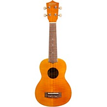MU45F Exotic Ukulele Flamed Maple Natural