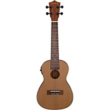 MU50SE Acoustic-Electric Concert Ukulele With Solid Cedar Top Natural