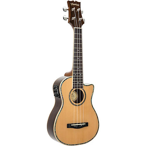 Mitchell MU70CE Cutaway Acoustic-Electric Concert Ukulele Condition 2 - Blemished Natural 194744326028
