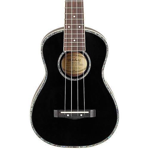 Mitchell MU75BK Concert Ukulele Condition 1 - Mint Black
