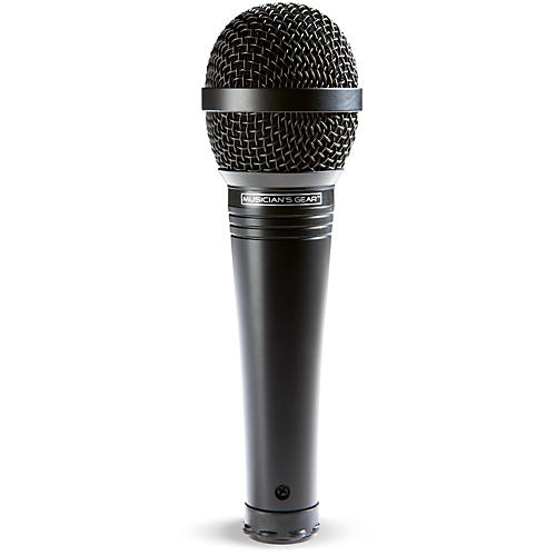 Musician's Gear MV-1000 Handheld Dynamic Vocal Microphone Condition 1 - Mint Black