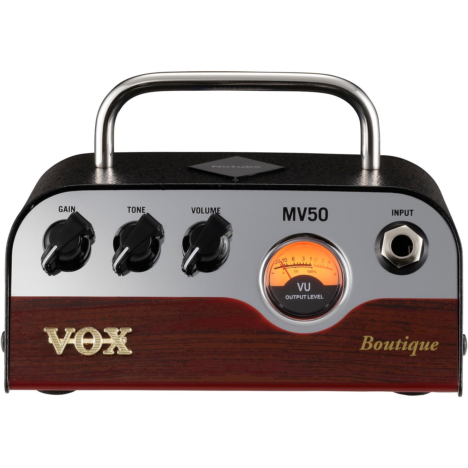 Vox MV50 Boutique 50W Guitar Amplifier Head