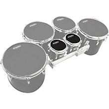 """Evans MX Black Tenor Drumhead 6"""" Shot 3-Pack"""