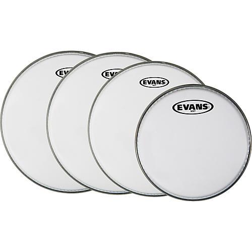 Evans MX White Tenor Drumhead 4-Pack
