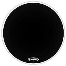 MX2 Black Marching Bass Drum Head Black 16 in.