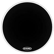 MX2 Black Marching Bass Drum Head Black 30 in.