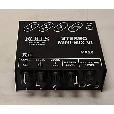 Rolls MX28 Unpowered Mixer