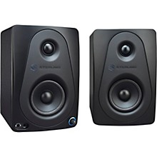 "Open Box Sterling Audio MX3 3"" Active Studio Monitor Pair, Black"