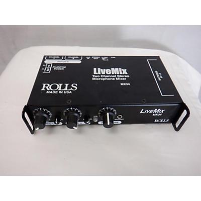 Rolls MX34 Line Mixer