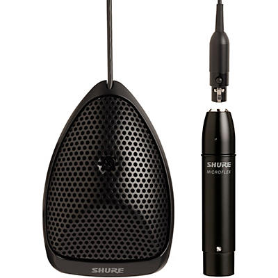 Shure MX391/C Microflex Omnidirectional Boundary Microphone Cardioid