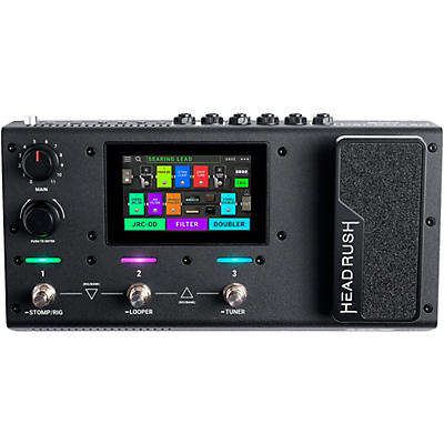 HeadRush MX5 Compact Quad-Core Multi-Effects Guitar Pedal and Amp Modeler
