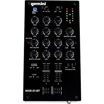 Gemini MXR-01BT 2 Channel Professional DJ Mixer With Bluetooth Input