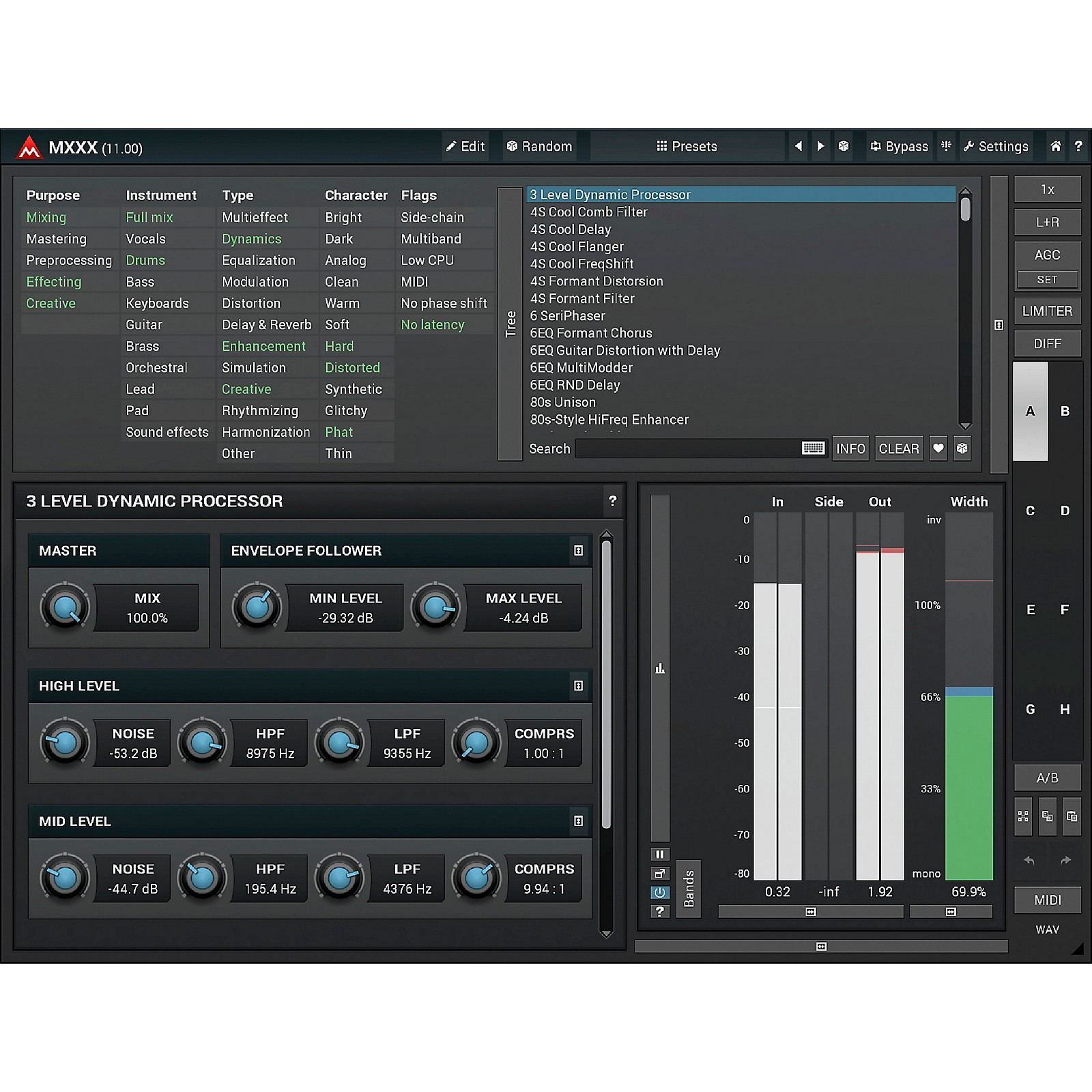 MeldaProduction MXXX Core Reverb & Delay Software Download