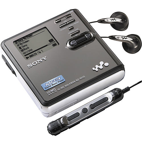 Sony MZ-RH10 Hi-MD Walkman Digital Music Player