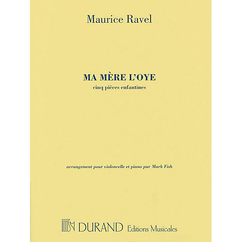 Editions Durand Ma mère l'oye Editions Durand Series Softcover Composed by Maurice Ravel