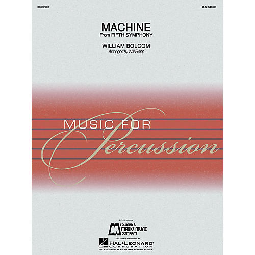 Hal Leonard Machine (Percussion Ensemble) Concert Band Level 4