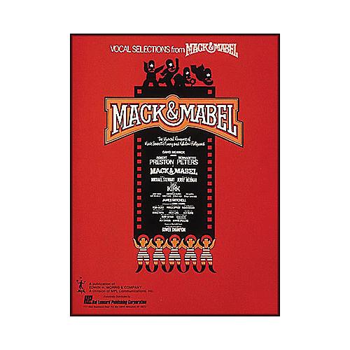 Hal Leonard Mack & Mabel Vocal Selections Songbook