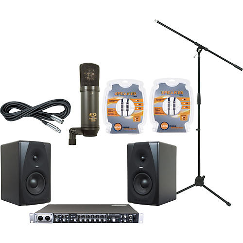 M-Audio Mackie Onyx Blackbird and M-Audio CX5 Recording Package