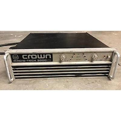 Crown Macro 5000VZ Power Amp