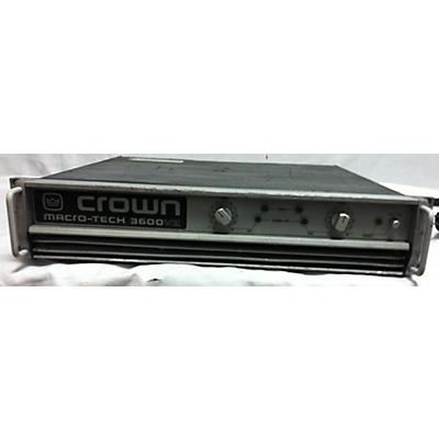 Crown Macro-Tech 3600V2 Power Amp