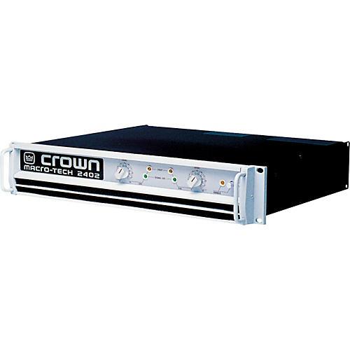 Power Amplifier Crown Macro Tech : crown macro tech ma 2402 power amp musician 39 s friend ~ Russianpoet.info Haus und Dekorationen