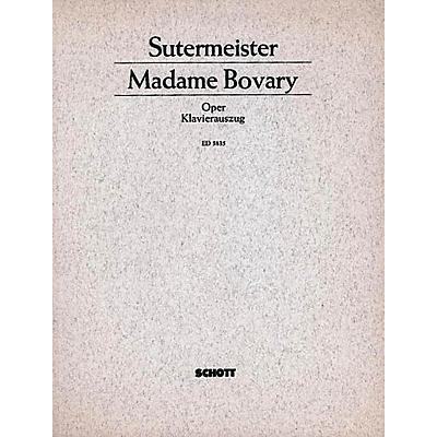 Schott Madame Bovary Vocal Score Schott Series
