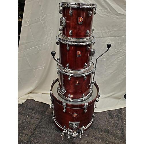 Premier Made In England Drum Kit Crimson Red Burst