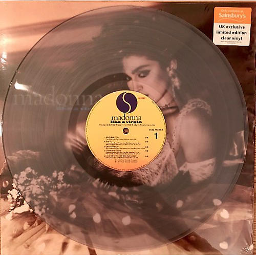 Alliance Madonna - Like A Virgin (Clear Vinyl Pressing)