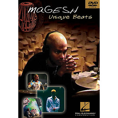Hal Leonard Magesh - Unique Beats Instructional/Drum/DVD Series DVD Performed by Magesh