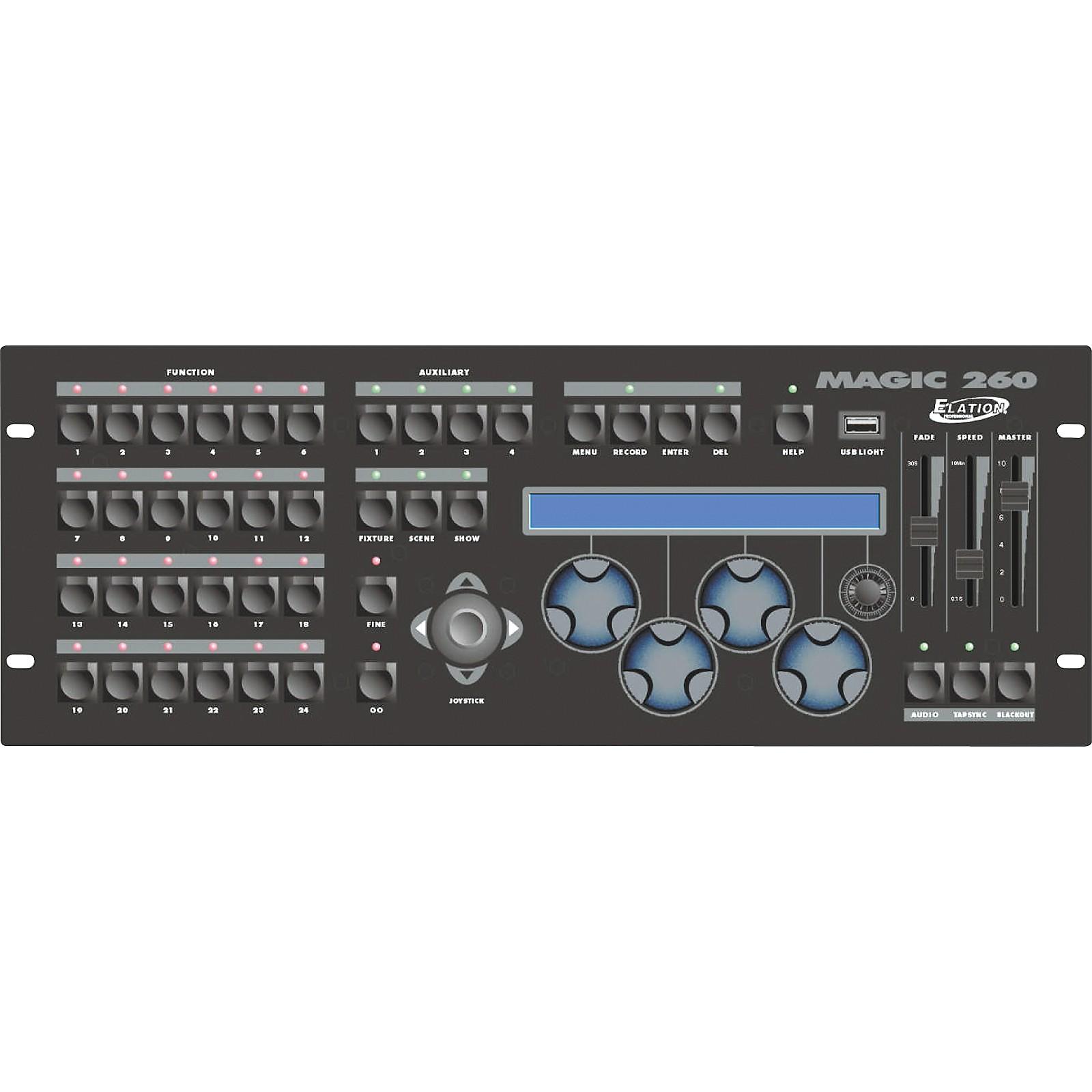 Elation Magic 260 - 260-Channel DMX Controller