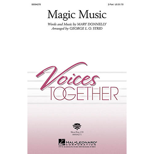 Hal Leonard Magic Music ShowTrax CD Arranged by George L.O. Strid