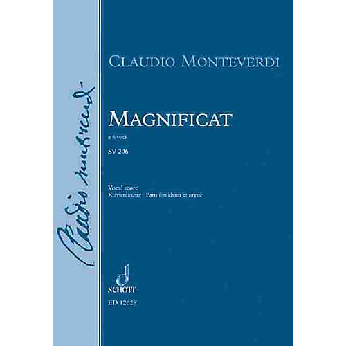 Schott Magnificat A 6 Vocal Score Schott Series