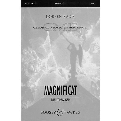Boosey and Hawkes Magnificat SATB Divisi composed by Imant Raminsh