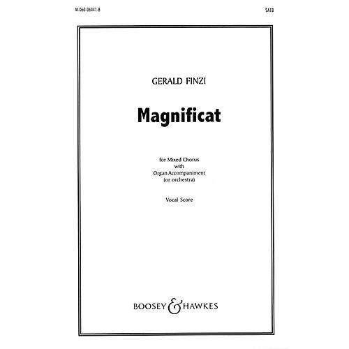 Boosey and Hawkes Magnificat (SATB and Organ) SATB Score composed by Gerald Finzi
